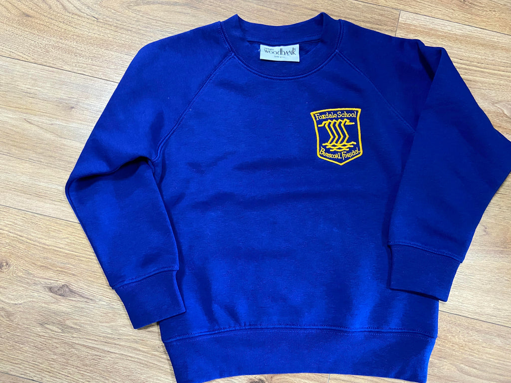 Foxdale Primary School - Embroidered Sweat Jumper
