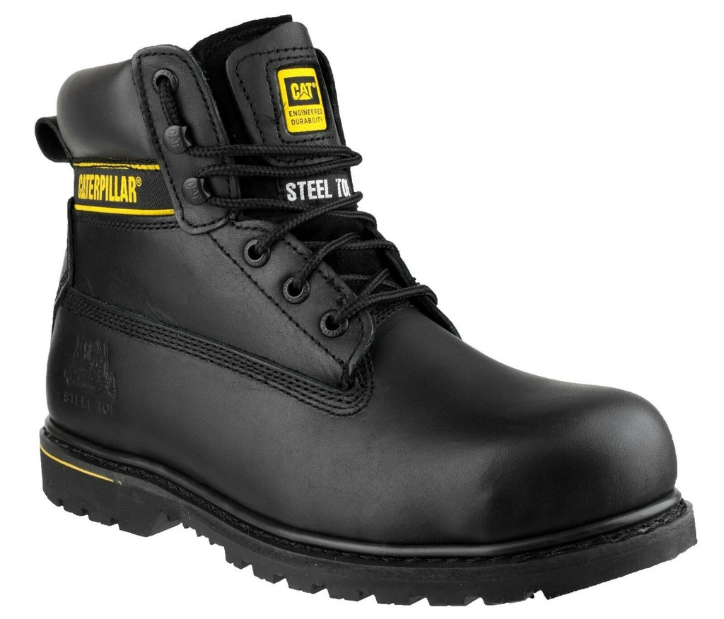 CAT 'Holton SB' Safety Work Boots 001
