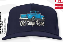 Old Guys Rule Decades Cap