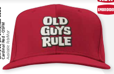 Old Guys Rule Stacked Logo Cap