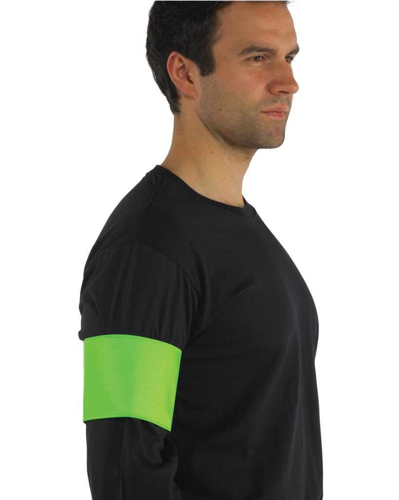 Hi Vis Yellow Arm Band