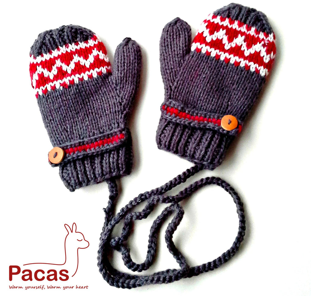Children Mittens 1-2 years