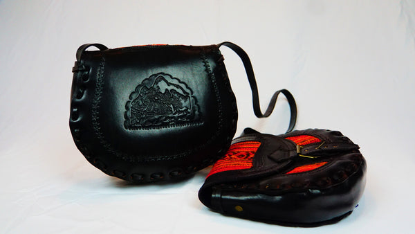 Andean Leather Purse