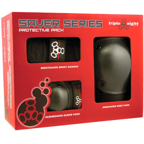 Triple 8 SAVER SERIES 3-PACK BOX or Combo Pack