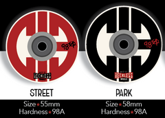 CIB Reckless Wheels (8 pack) *Pre-order*