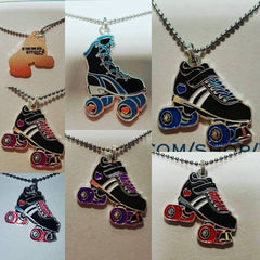 Derby Love Skate Necklaces