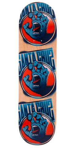 Santa Cruz 7.6 in x 31.5 in Screaming Tag Team Deck
