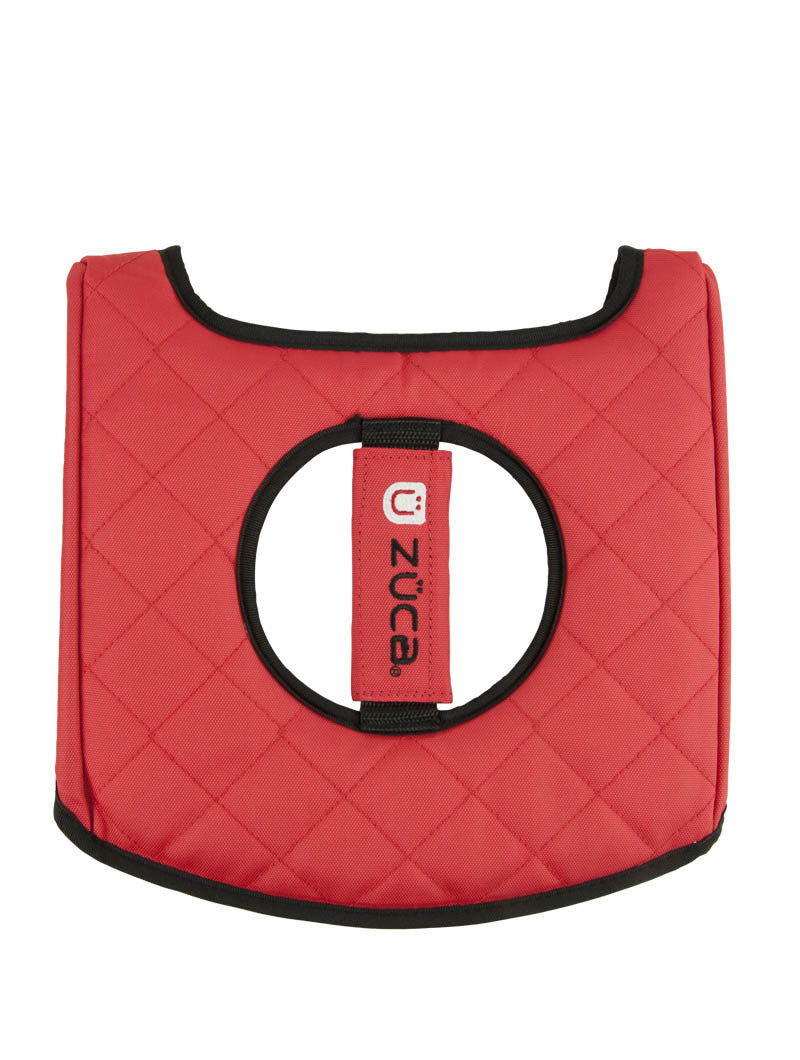 Zuca Seat Cushion Black/Red (Red)