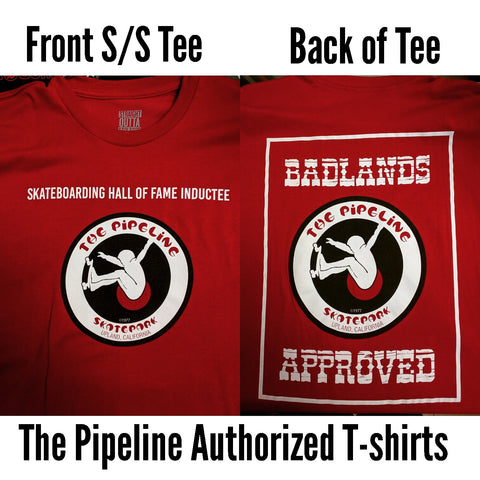 Pipeline Badlands T-shirt (Red)