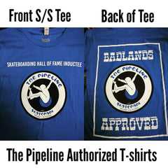 Pipeline Badlands T-shirt (Blue)