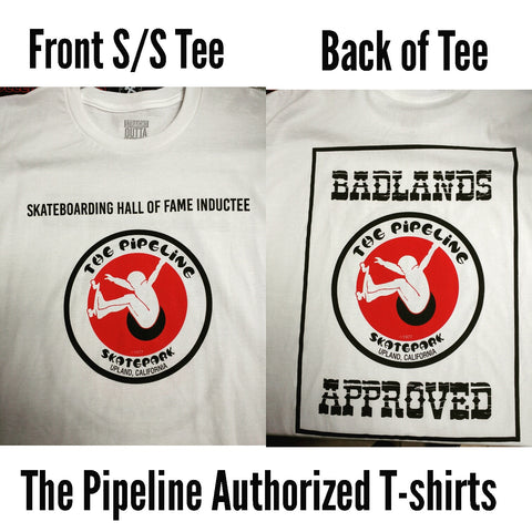 Pipeline Badlands T-shirt (White)