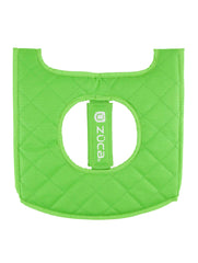 Zuca Seat Cushion in Green & Black