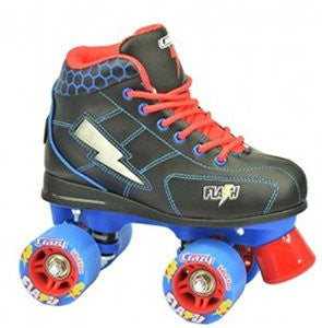 Crazy Skates Flash (Black/Blue)
