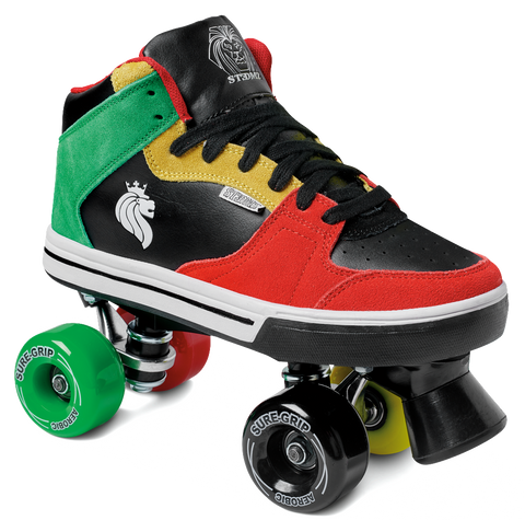 Sure Grip Rasta Skates