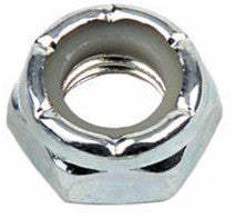 Axle Nuts  (Silver or Black)