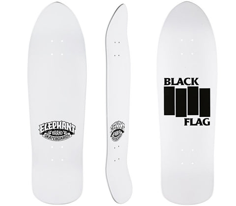 ELEPHANT BLACK FLAG BARS DECK 9 3/4 x 32 1/4