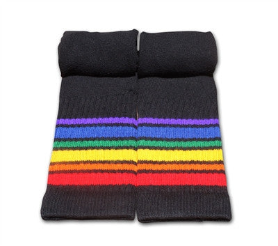 "Pride Socks 22"" Black Tube Sock"