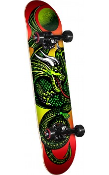 Powell Golden Dragon Knight Dragon 2 Complete Skateboard - 7.5 x 28.65
