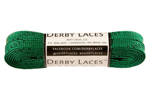 Derby Waxed Laces (Green)