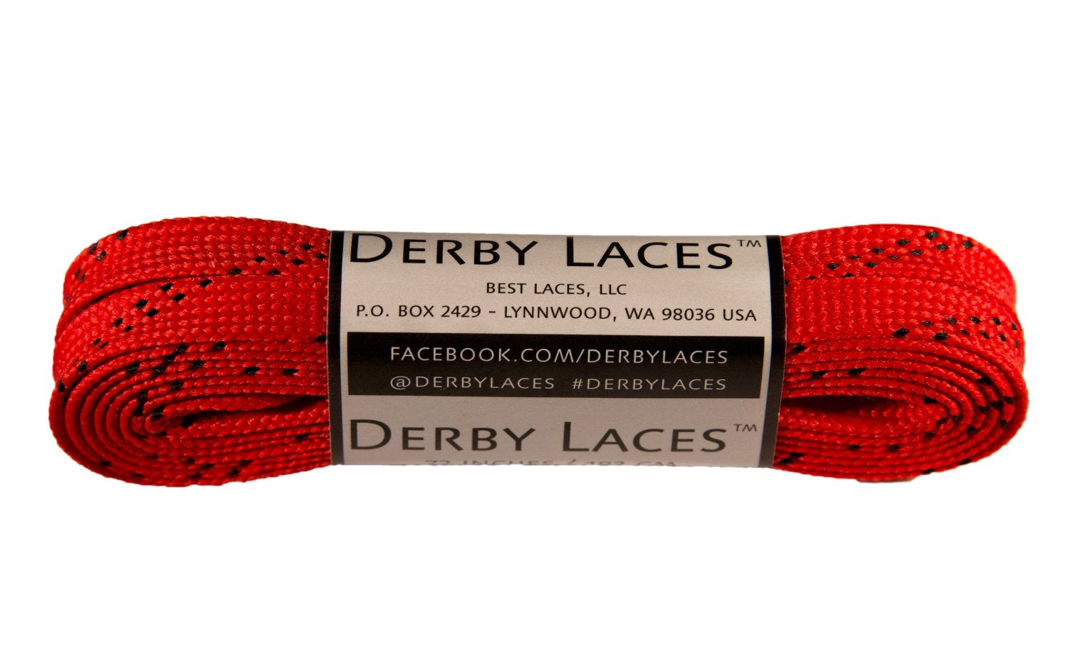 Derby Waxed Laces (Red)