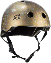 S1 Lifer Helmet - Double Gold Gloss Glitter