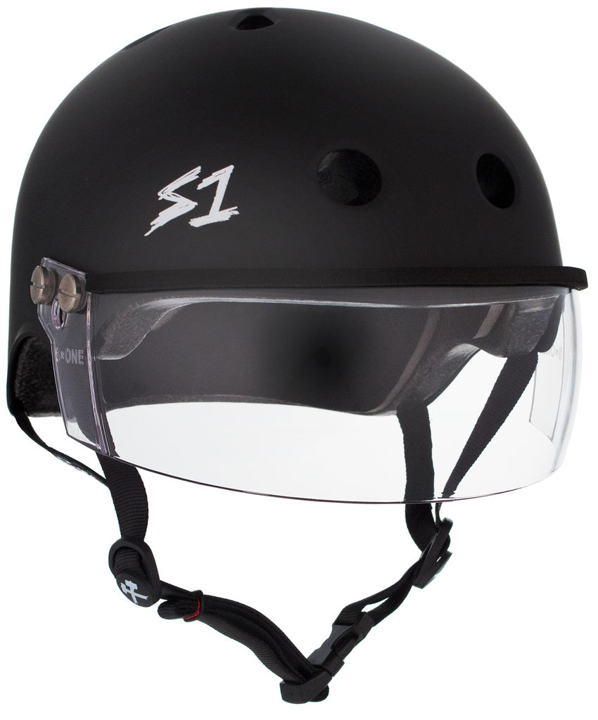 S1 Lifer Visor 2nd generation (Black Gloss)