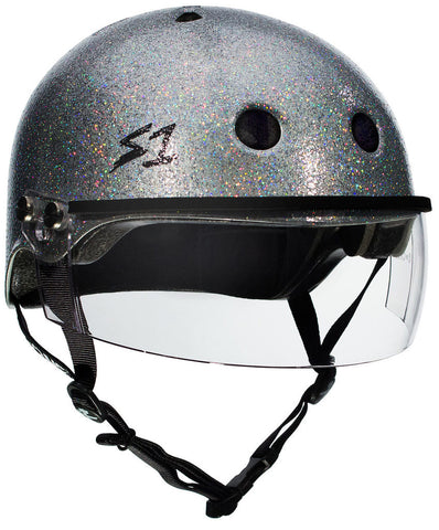 S1 Lifer Visor 2nd generation (Silver Gloss Glitter)
