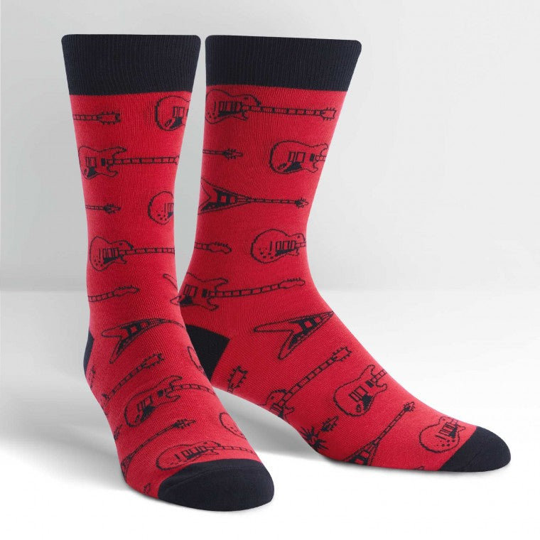 Sock It To Me Men's String Theory Crew Socks