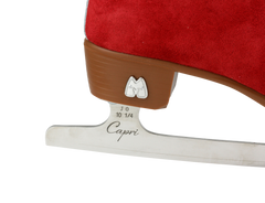 Moxi Ice Skates - Poppy (Red)