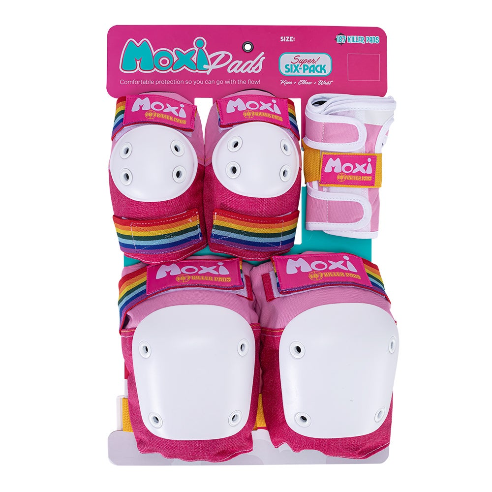 187 Moxi JR Super 6 combo pack (Pink)