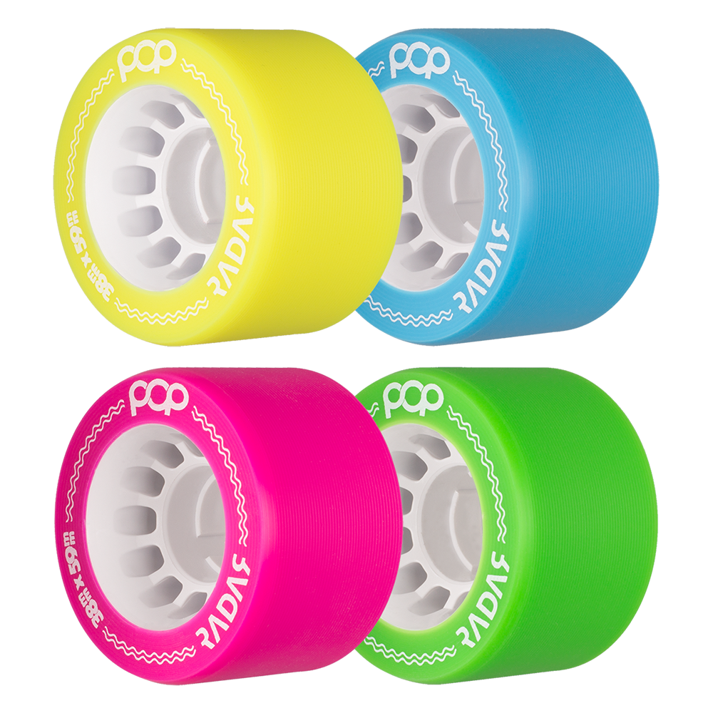 Radar Pop Wheels (4 pack)