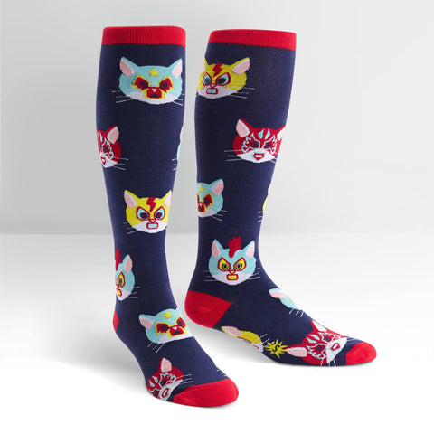 Sock It To Me STRETCH-IT Gato Libre Knee Sock