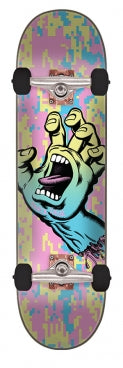 Santa Cruz Skateboard Complete 8.0in x 31.6in Screaming Hand Camo