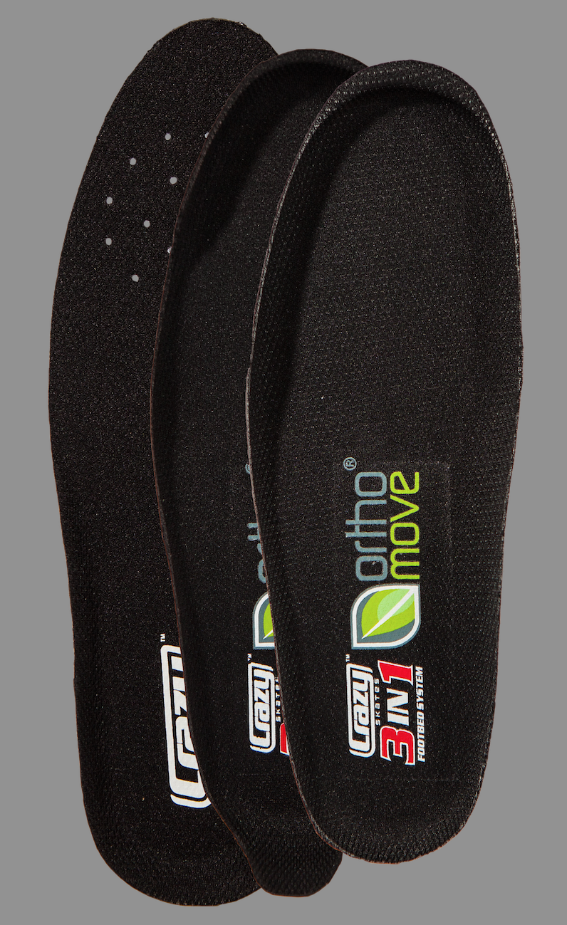 Crazy Skates 3n1 Insoles