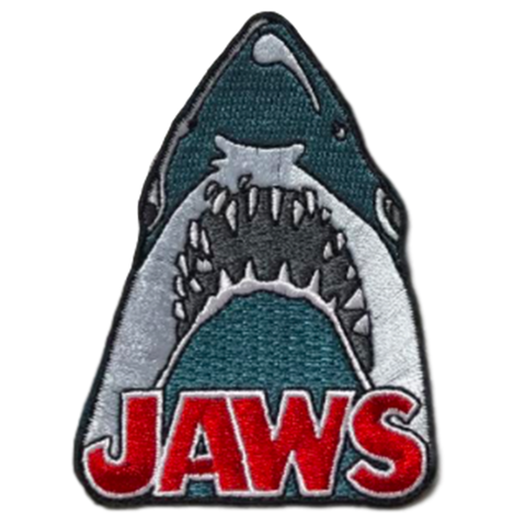 Rock Rebel Jaws Shark Head Patch 3""
