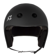 S1 RETRO LIFER HELMET • BLACK MATTE