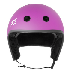 S1 RETRO LIFER HELMET • BRIGHT PURPLE MATTE