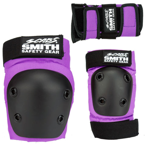 Smith Scabs - Youth 3 Pack Combo (Purple)
