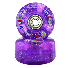 Crazy Illumin8 LED 58x32mm Wheels  (2 pack-8 pack)