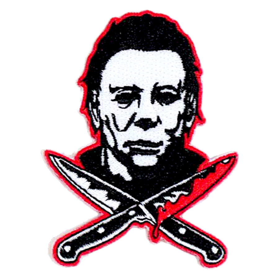 Rock RebelHalloween 2 Michael Myers Knives Patch