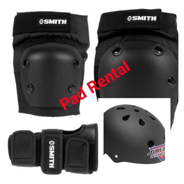 Safety Gear and Helmet Rental