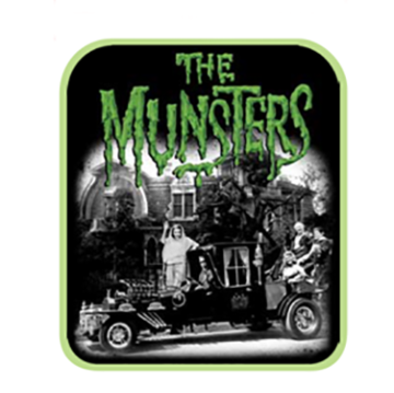 Rock Rebel The Munsters Patch