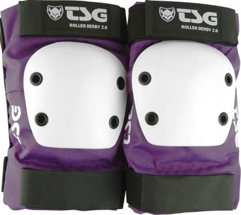 TSG Derby Elbow purple, Large only ***Closeout***