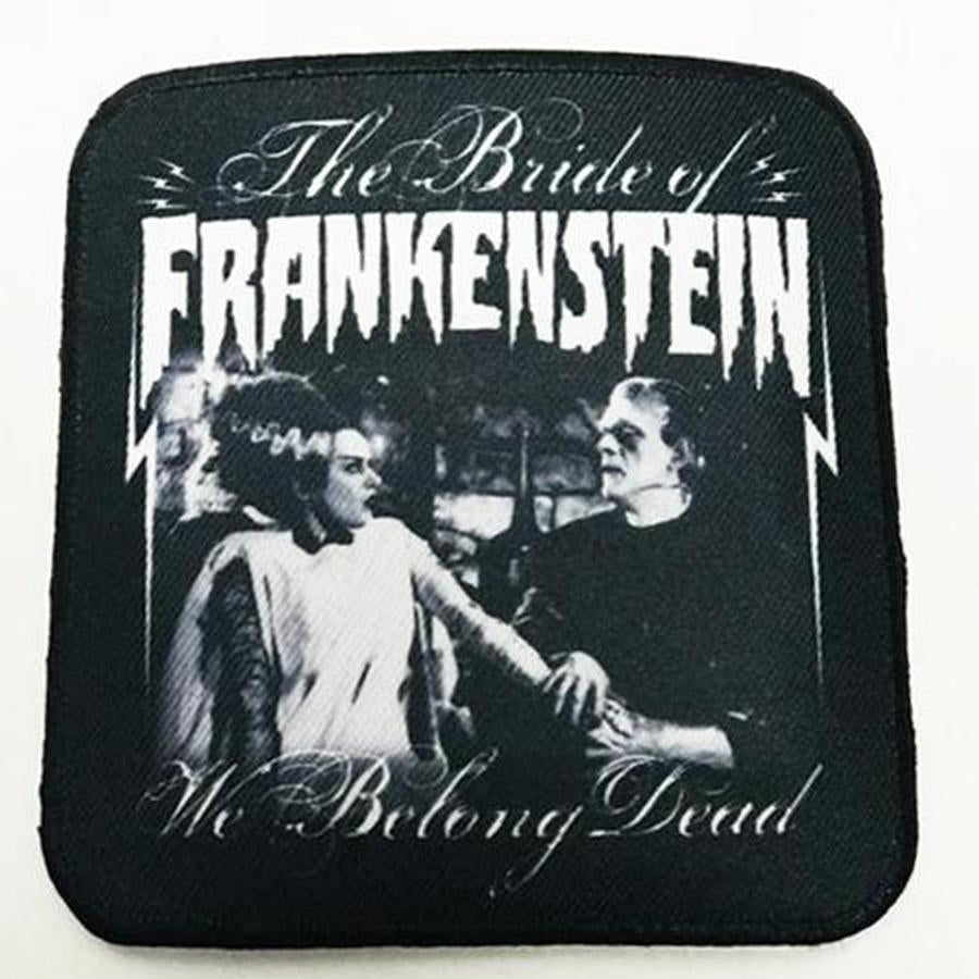 Rock Rebel We Belong dead Bride of Frankenstein patch