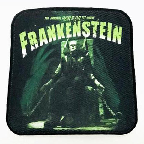 Rock Rebel Frankenstein Electric Chair Patch