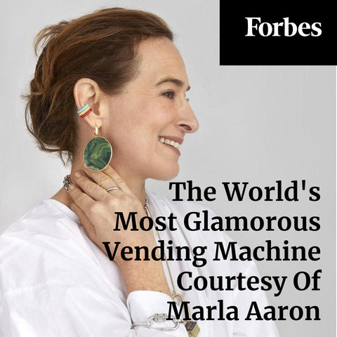 The World's Most Glamorous Vending Machine Courtesy Of Marla Aaron