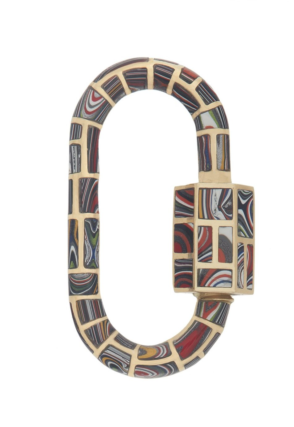 All Inlay Lock with Fordite