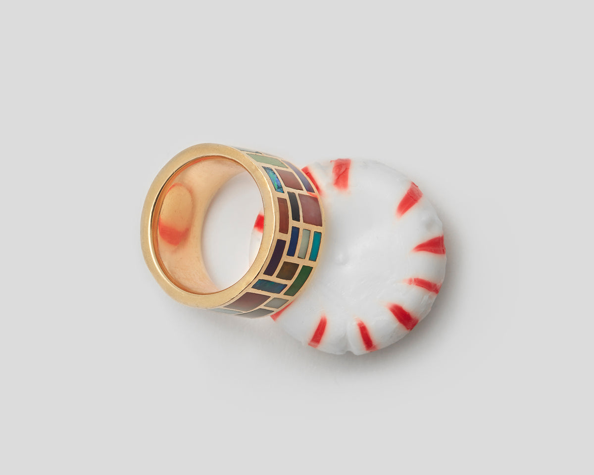 All Inlay Ring