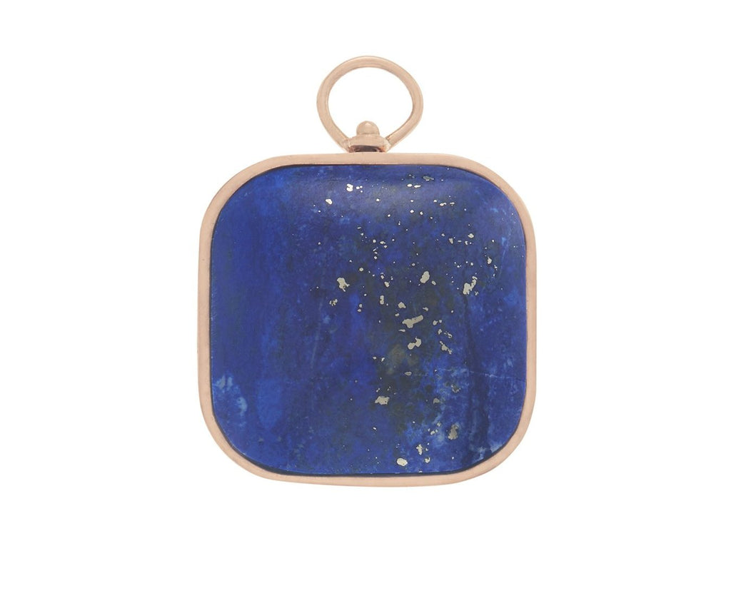 Large Squircle Charm with Lapis