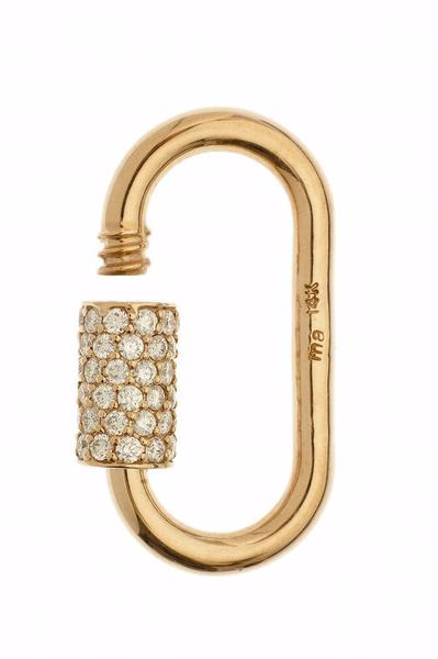 Stoned Regular Lock with Diamonds